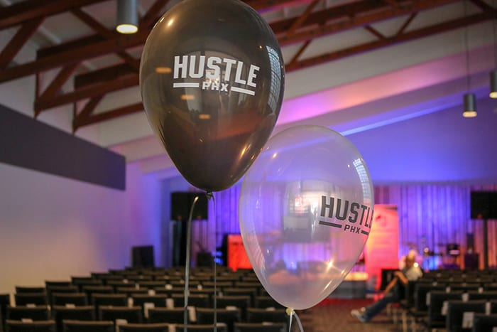 hustle phx balloons